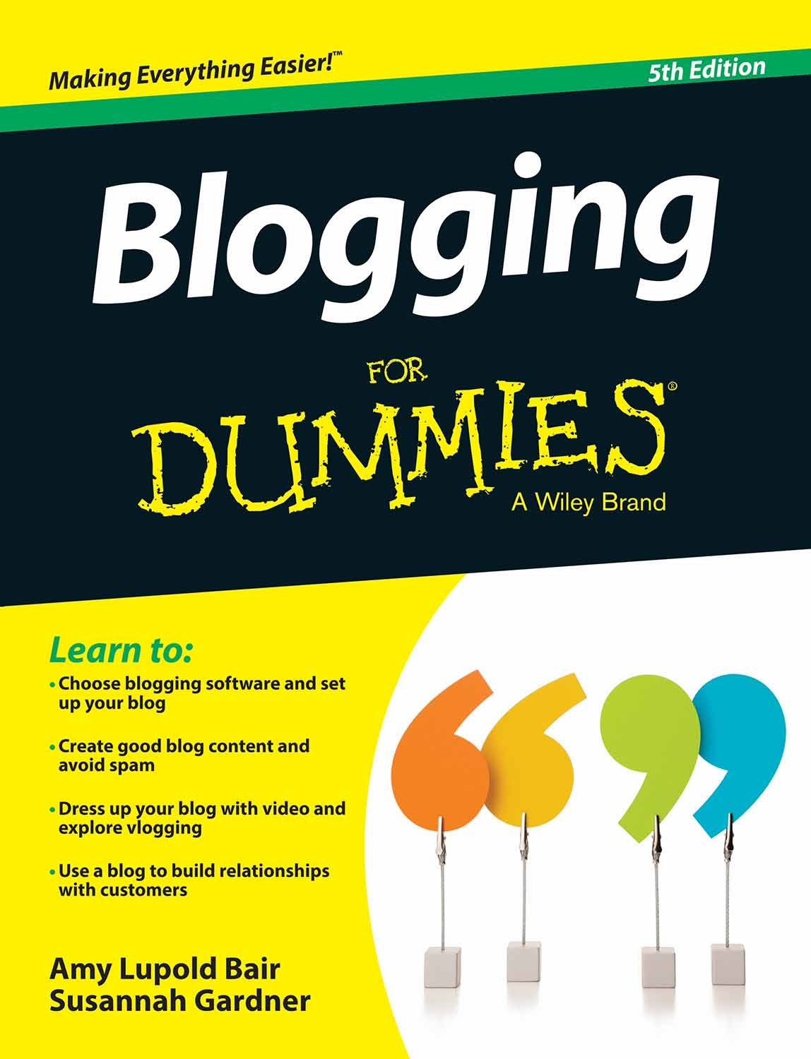 Blogging for Dummies, 4th Edition