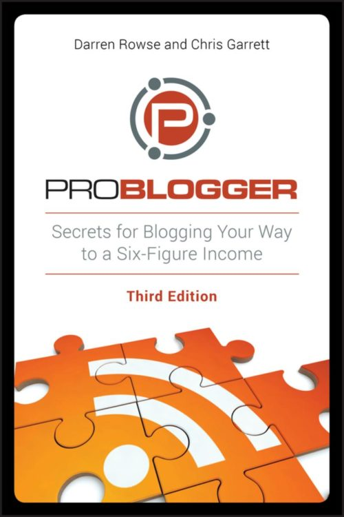 ProBlogger's Guide to Blogging for Your Business - buku sukses blogging .image: Kobo.com