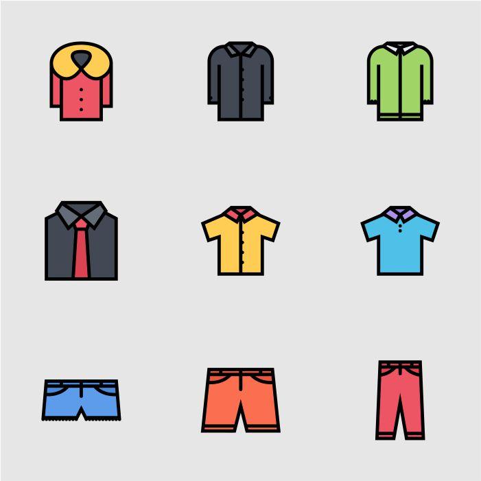 ikon fashion 1 desain grafis kontenesia