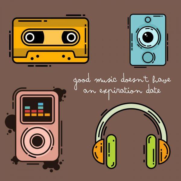 ilustrasi jasa desain grafis kontenesia - musik
