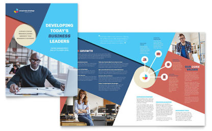 perusahaan brosur desain grafis kontenesia
