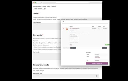 Cara order & berkolaborasi klien dengan penulis di Kontenesia jasa penulis artikel