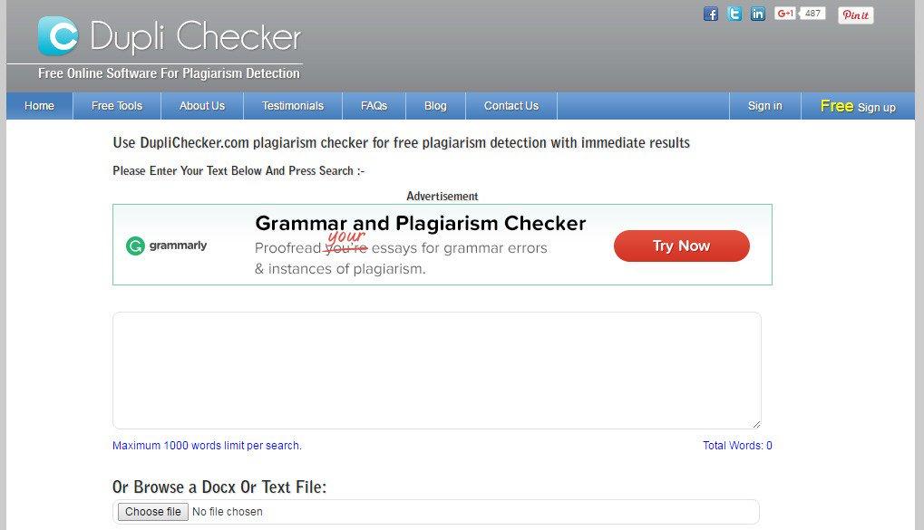 Dupli Checker - 5 Tools Berikut Bantu Jasa Penulis Artikel Terbebas dari Konten Plagiat