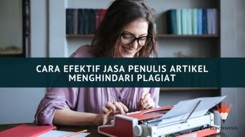 Meniru yang baik, cara Efektif Jasa Penulis Artikel Menghindari Plagiat
