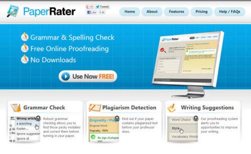 PaperRater - 5 Tools Berikut Bantu Jasa Penulis Artikel Terbebas dari Konten Plagiat