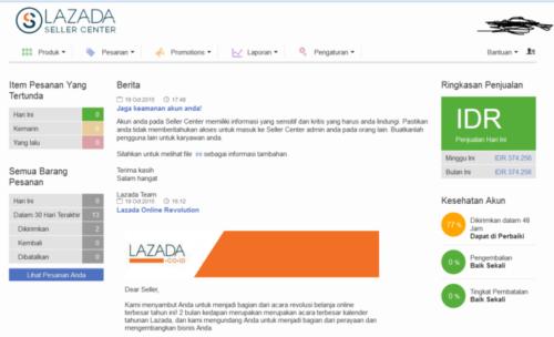 Miliki Akun Penjual di Lazada - cara jualan di Lazada