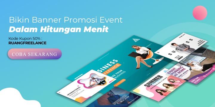 Bikin Video, Banner, Flyer hingga Website untuk Publikasi Acara Penting Seperti Pernikahan, Seminar dan Banyak Acara Lainnya!