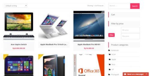 Pasang plugin toko online - Cara Membuat Toko Online
