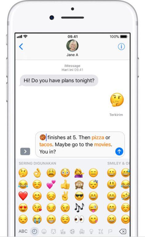 Gunakan Emoji - Caption Instagram Keren