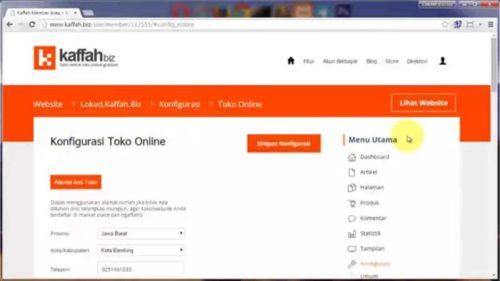 Buat situs untuk toko online - Cara Membuat Toko Online