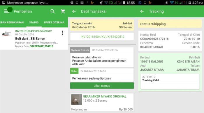 Tunggu Pesanan dari Pembeli - Cara Menjual Barang di Tokopedia