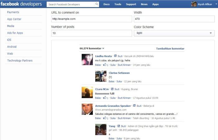 Menambahkan Caption ke dalam Foto - caption Facebook