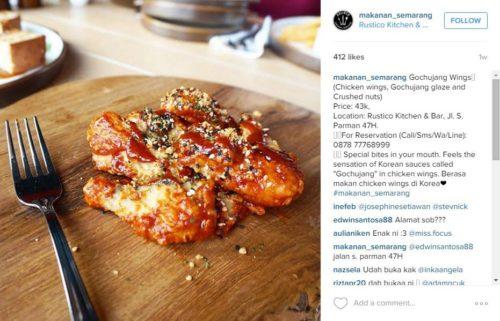 Menjadi wahana beriklan - caption untuk Instagram