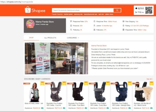 Membuat Deskripsi Produk Yang Jelas dan Menarik - cara-jualan-di-shopee - image : mamapandablogs.blogspot.com