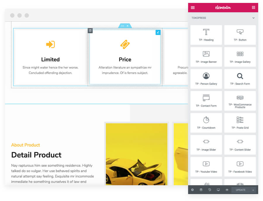 jasa pembuatan website - tools elementor