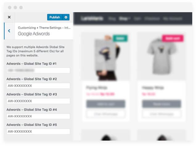 integrasi tema tokopress.id dengan google ads