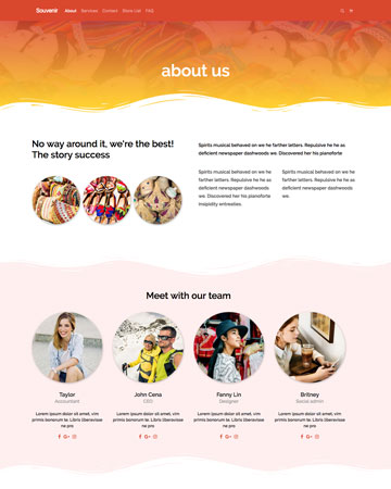 contoh tamplate page about us tema tokopress.id