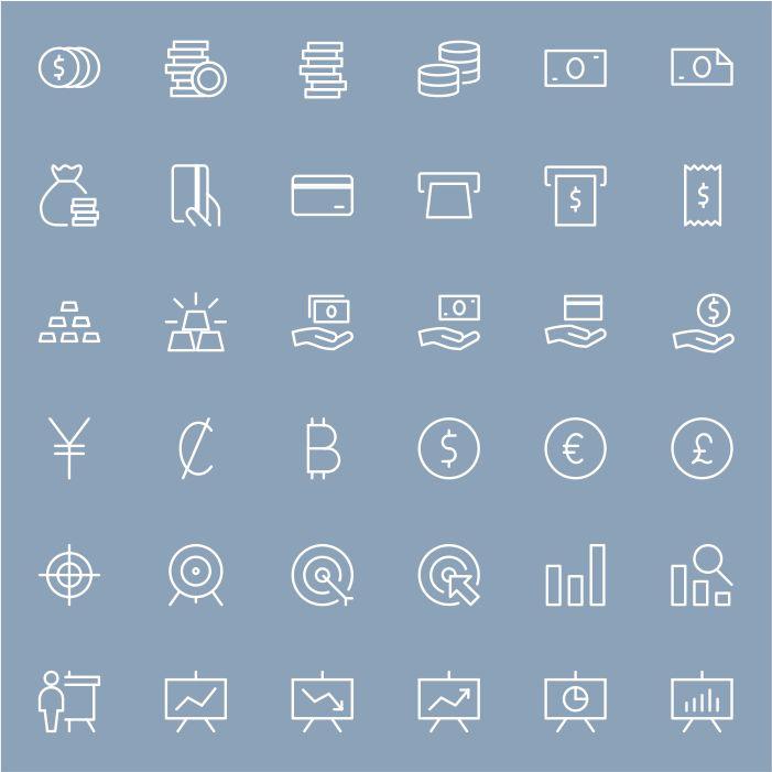 salah satu protofolio jasa desain grafis kontenesia, gambar beberapa icon