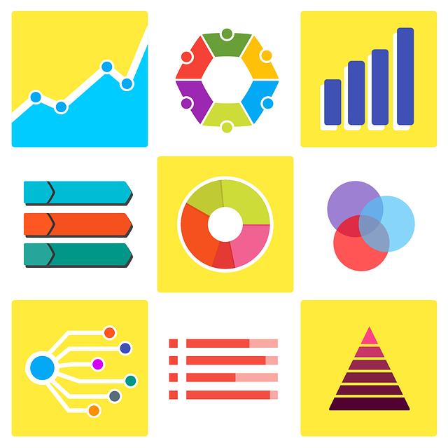 salah satu protofolio jasa desain grafis kontenesia, gambar beberapa diagram atau statistik atau infografis