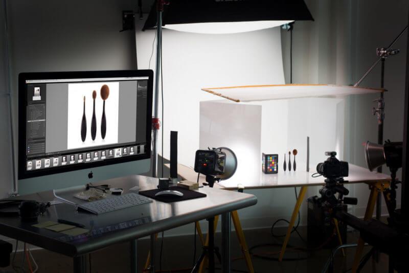 proses pengambilan gambar produk
