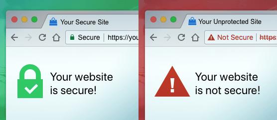website menggunakan ssl ceritificate