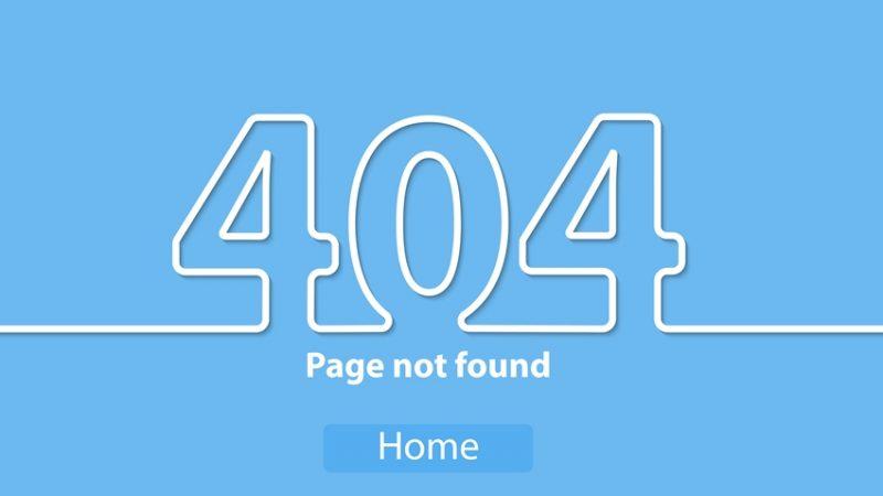 seo toko online - halaman error 404